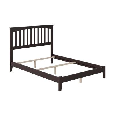 Mission  Espresso Full Traditional Bed
