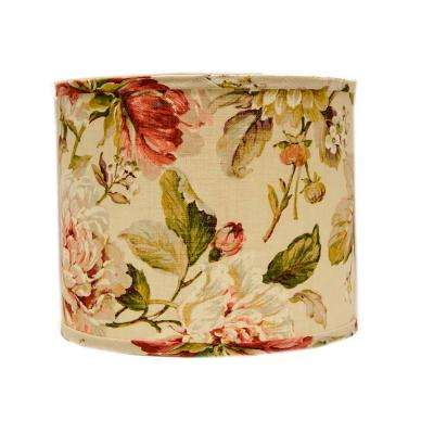 5 in. x 4.5 in. Multi-Colored Lamp Shade
