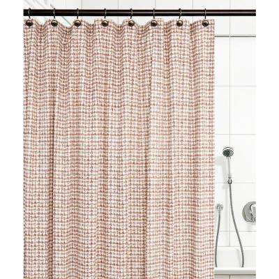 Davins 72 in. L Clay Shower Curtain