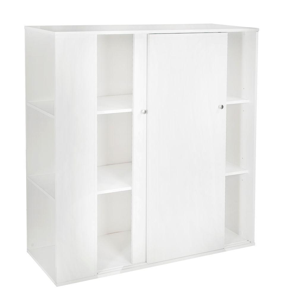Storit Pure White Storage Cabinet