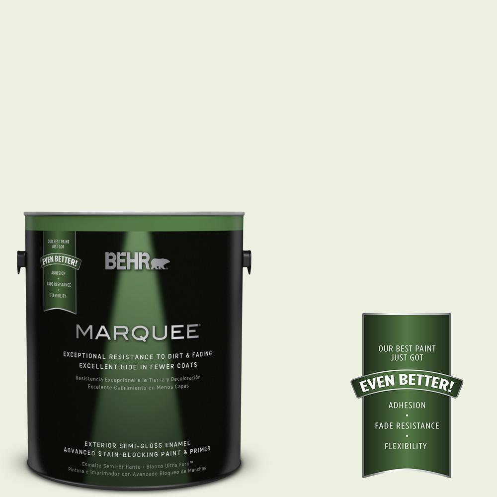1-gal. #M360-1 Glisten Green Semi-Gloss Enamel Exterior Paint