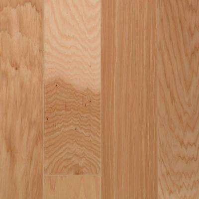 Take Home Sample - Hickory Natural Engineered Click Hardwood Flooring - 5 in. x 7 in.