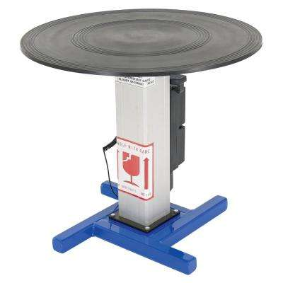 30 in. Dia 750 lbs. Capacity Turntable with Powered Height Adjustment