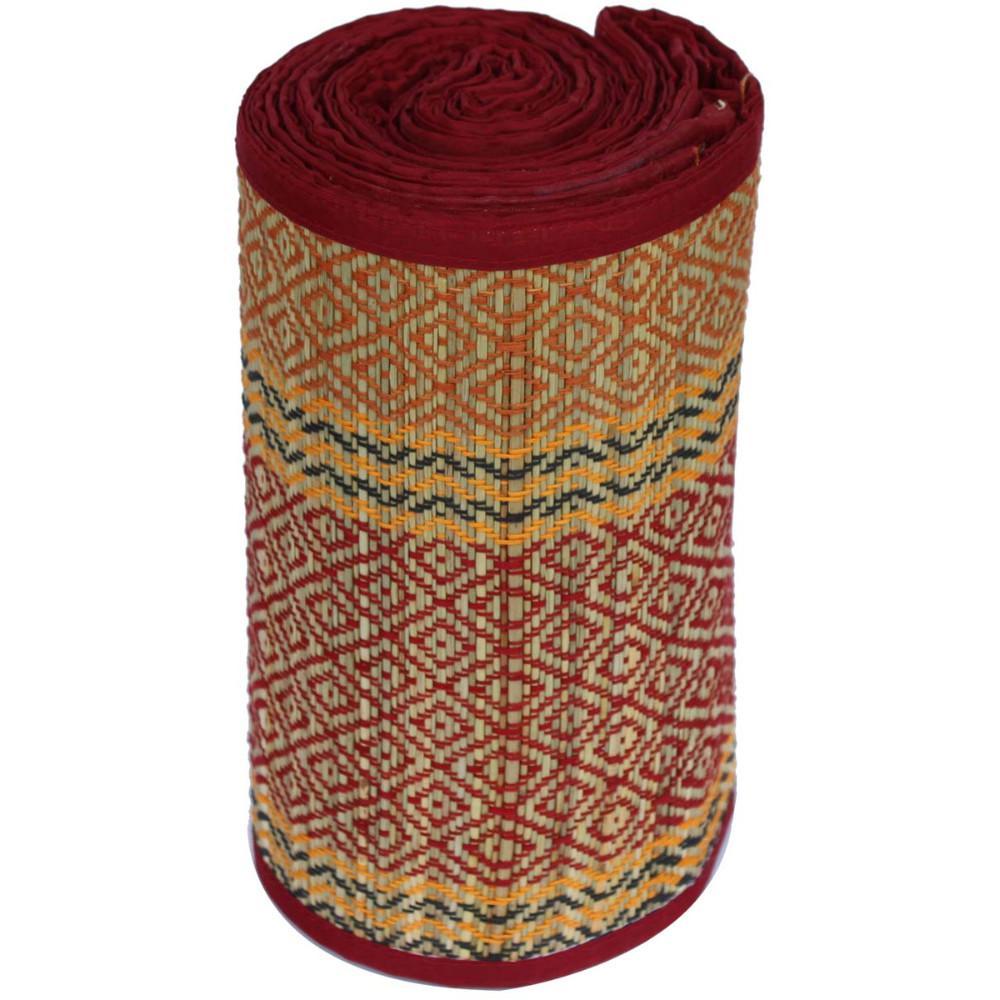 Multi-Purpose 36 in. x 72 in. Eco-Friendly Multi Grass Straw Floor Mat for Home, Yoga, Beach and Picnics