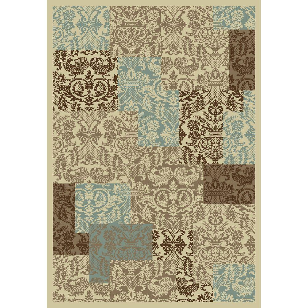 Chester Patchwork Soft 6 ft. 7 in. x 9 ft. 3
