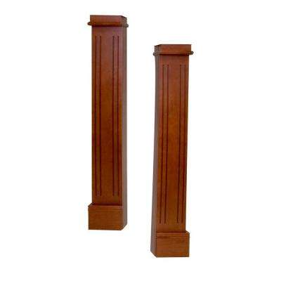 Harbor 5.6 in. x 42.6 in. Mahogany Leg and Skirt Kit