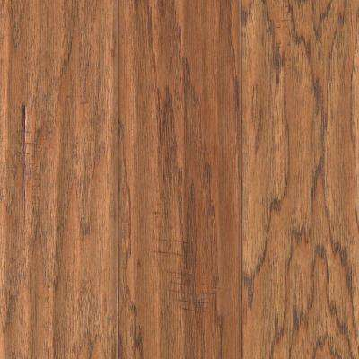 Hickory Chestnut Scrape 3/8 in. Thick x 5-1/4 in. Wide x Random Length Click Hardwood Flooring (22.5 sq. ft. / case)