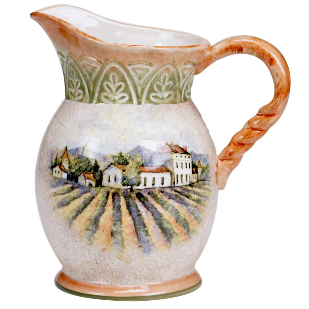 3 Qt. Sanctuary Wine Pitcher