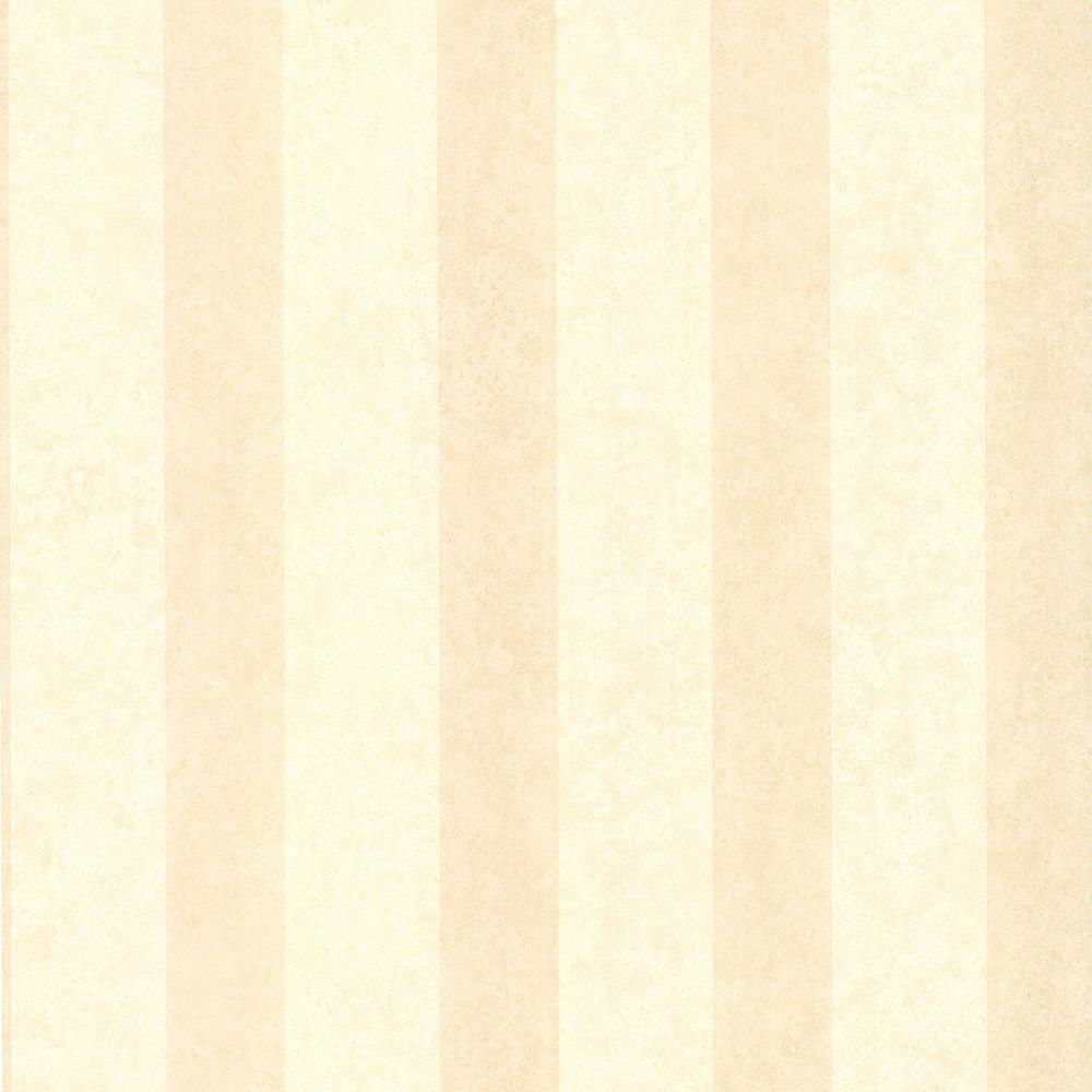 Brewster Semolina Beige Stripe Wallpaper