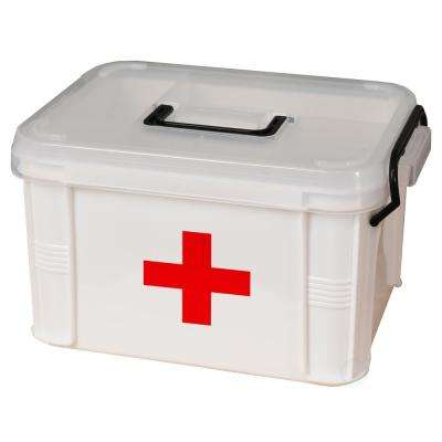 2.51 Gal. First Aid Medical Kit Container