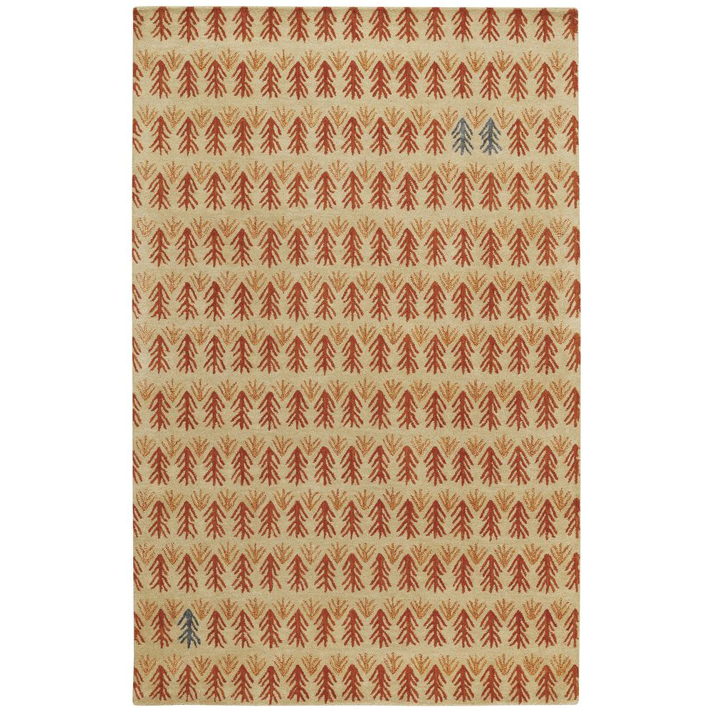 Capel Genevieve Gorder Twigs Ash 5 Ft X 8 Area Rug