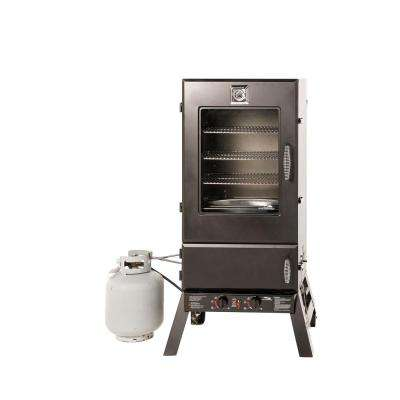 44 in. Propane Gas Smoker with Window
