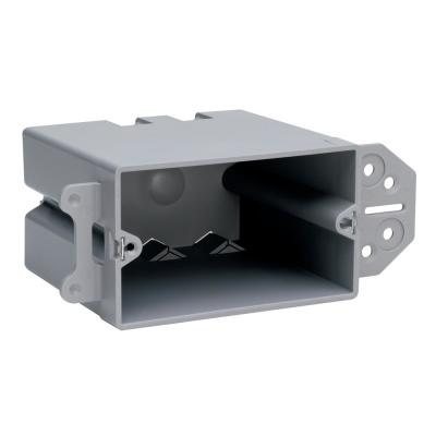 Pass & Seymour Slater New Work Plastic 1 Gang Horizontal Steel Stud Backet Box with Quick/Click