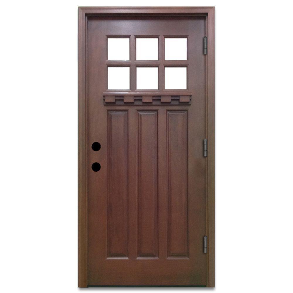 Left Handoutswing Front Doors Exterior Doors The Home Depot