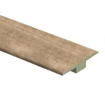 Southport Oak 7/16 in. Thick x 1-3/4 in. Wide x 72 in. Length Laminate T-Molding
