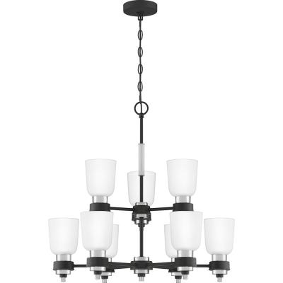 Conrad 9-Light Brushed Nickel Chandelier
