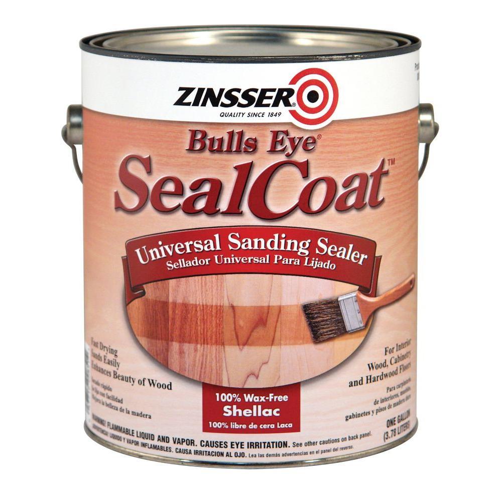 Zinsser 1 Qt. SealCoat Wood Interior Sealer (Case Of 4