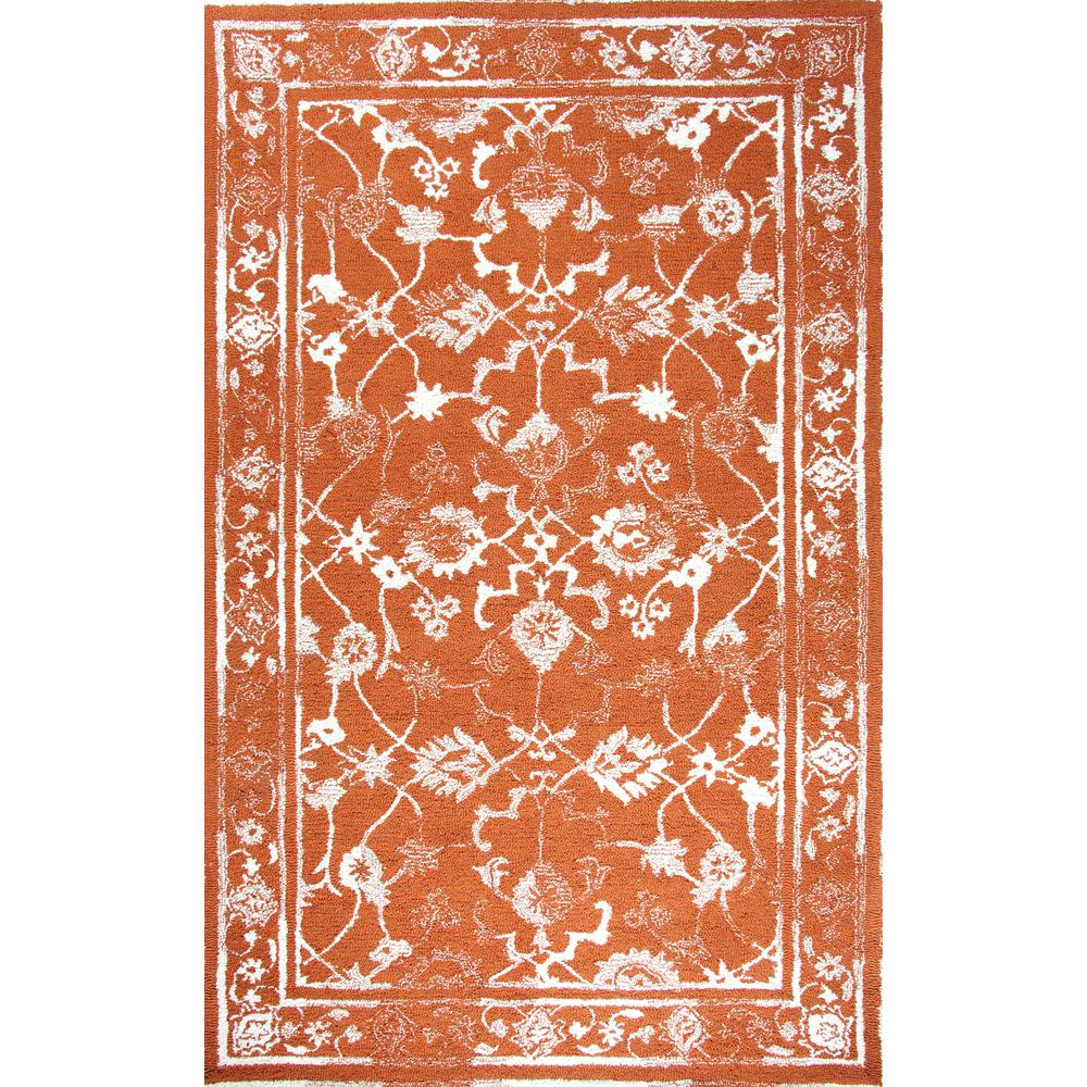 Avalon Copper/Ivory 2 ft. x 4 ft. Indoor Area Rug