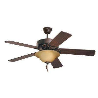 Pro Series 50 in. Oil Rubbed Bronze Ceiling Fan