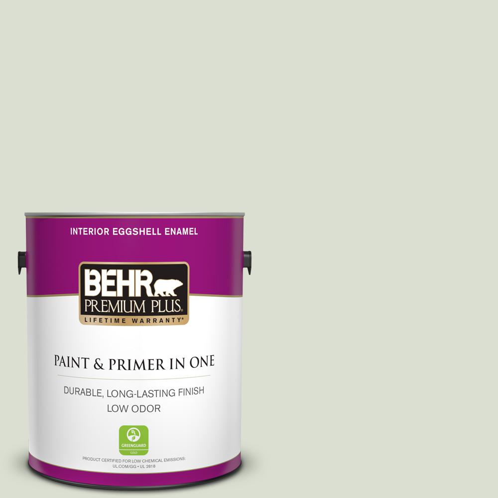 Ppl 47 Sage Tint Eggshell Enamel Low Odor Interior Paint And Primer In One