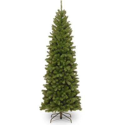 7c2d3cf2e38 6 ft. North Valley Spruce Slim Artificial Christmas Tree