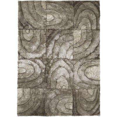 Flemish Taupe/Cream/Beige 7 ft. 9 in. x 10 ft. 6 in. Indoor Area Rug