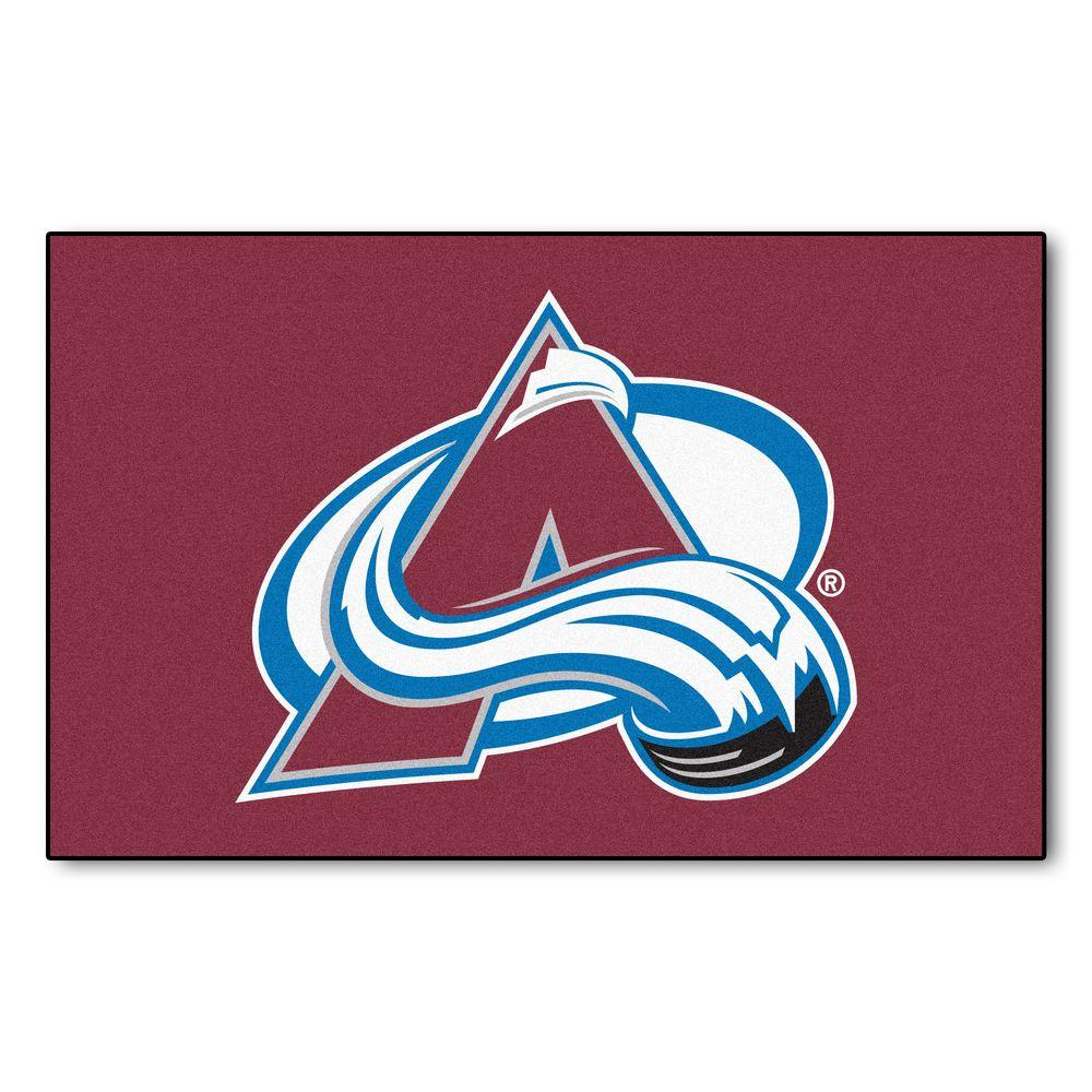 Colorado Avalanche 5 ft. x 8 ft. Ulti-Mat