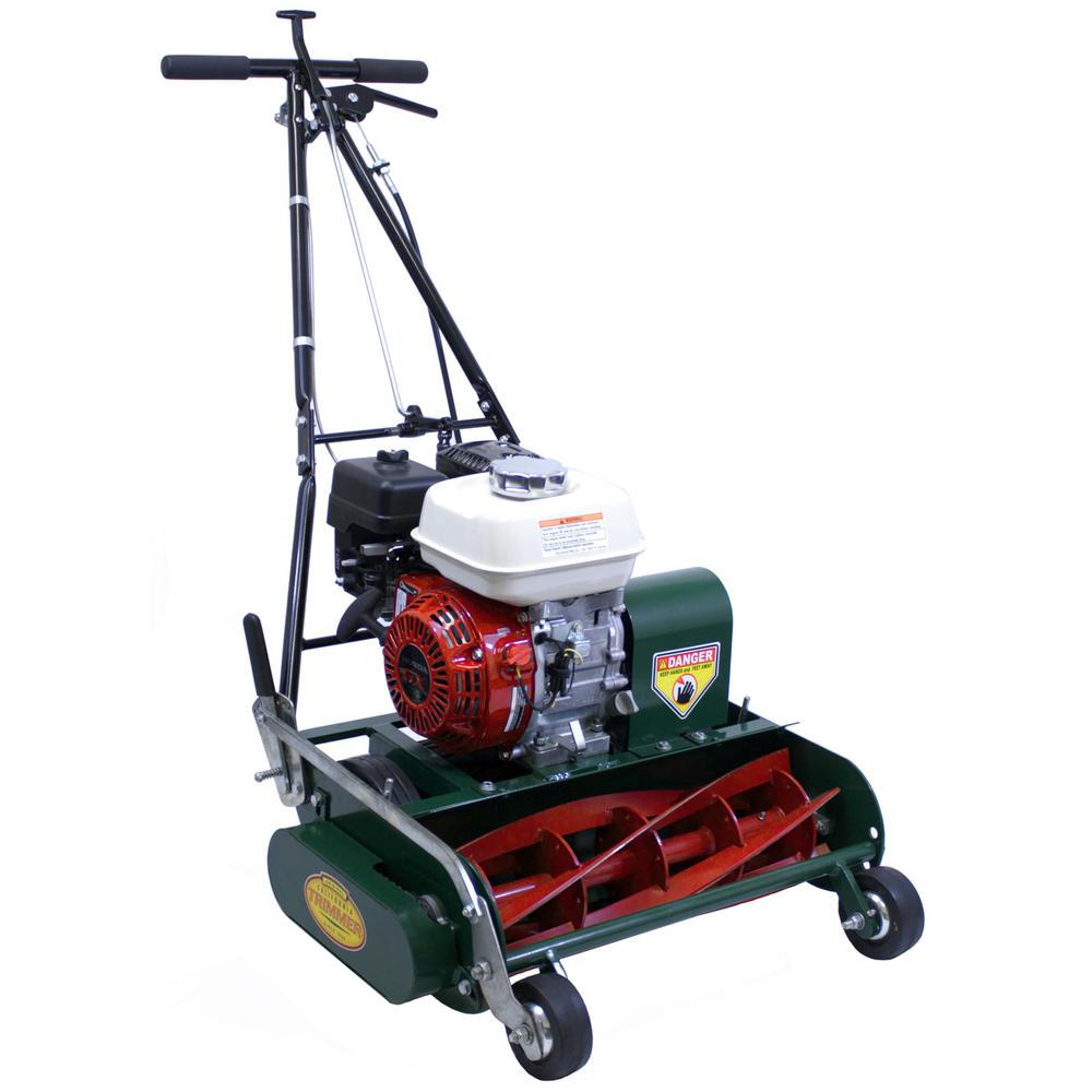 Classic High Cut 20 in. 5-Blade Honda Gas Walk Behind Self-Propelled