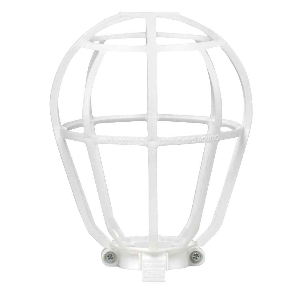 Leviton Bulb Guard, White-R50-12200-00W - The Home Depot