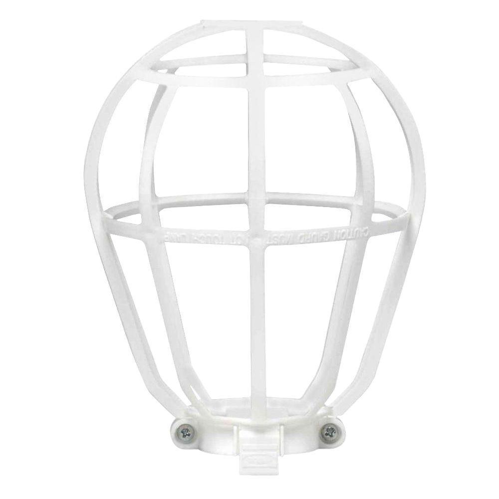 Bulb Guard, White