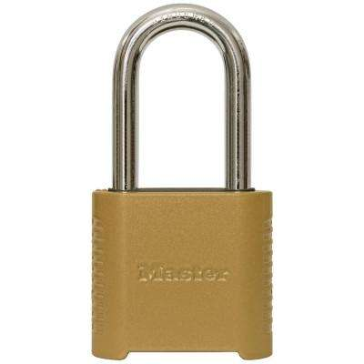 2-5/32 in. Set Your Own Combination Padlock with 2 in. Shackle
