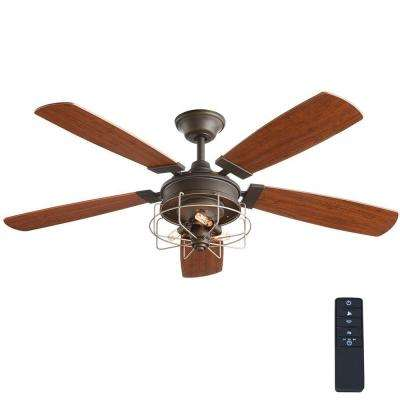 Toledo 52 in. Oil-Rubbed Bronze Ceiling Fan