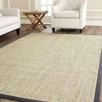 natural fiber marblegrey 10 ft x 14 ft area rug