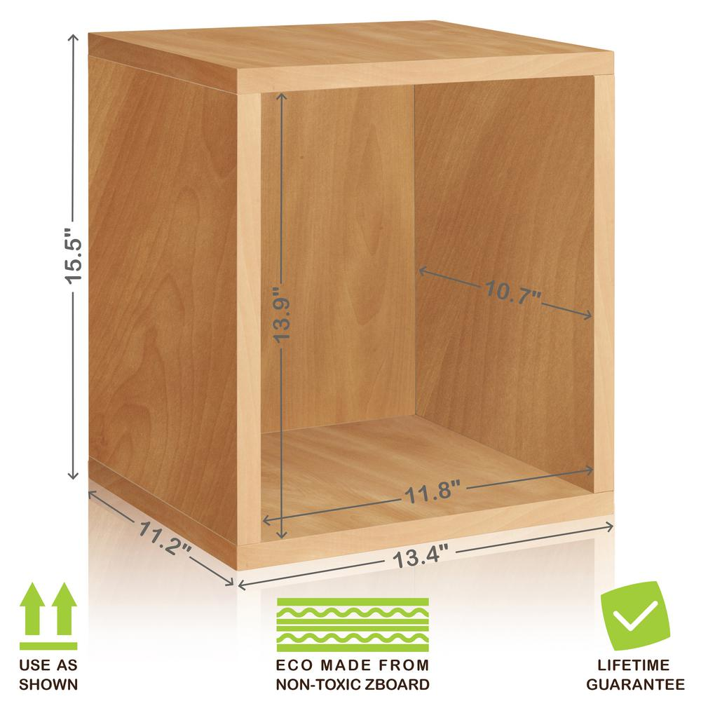 Charmant Eco Stackable ZBoard 11.2 X 13.4 X 12.8 Tool Free Assembly Tall Storage Cube  Unit