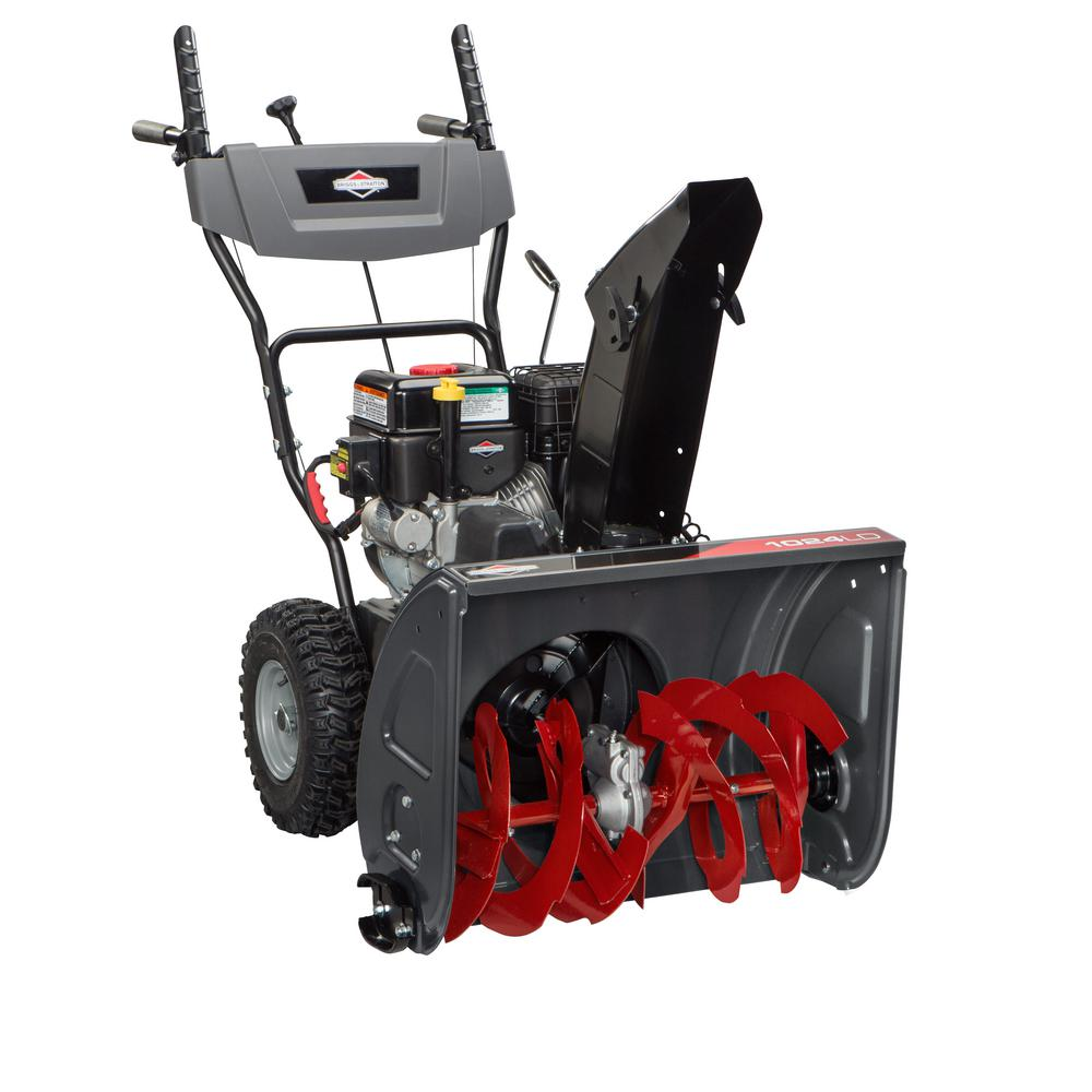 24 in. Dual-Stage Electric Start Gas Snowthrower
