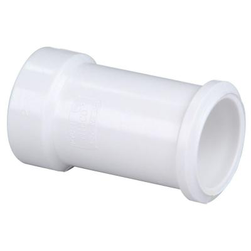 2 in. PVC DWV Hub x Spigot Soil Pipe Adapter