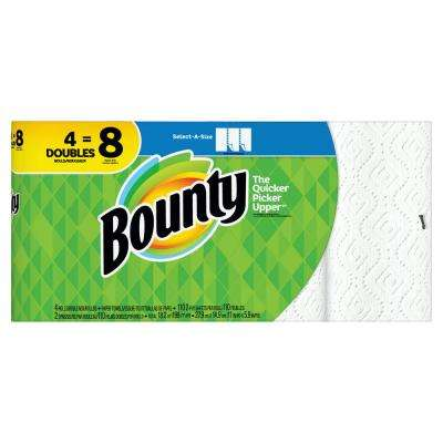 Select-A-Size White Paper Towels (4 Double Rolls)