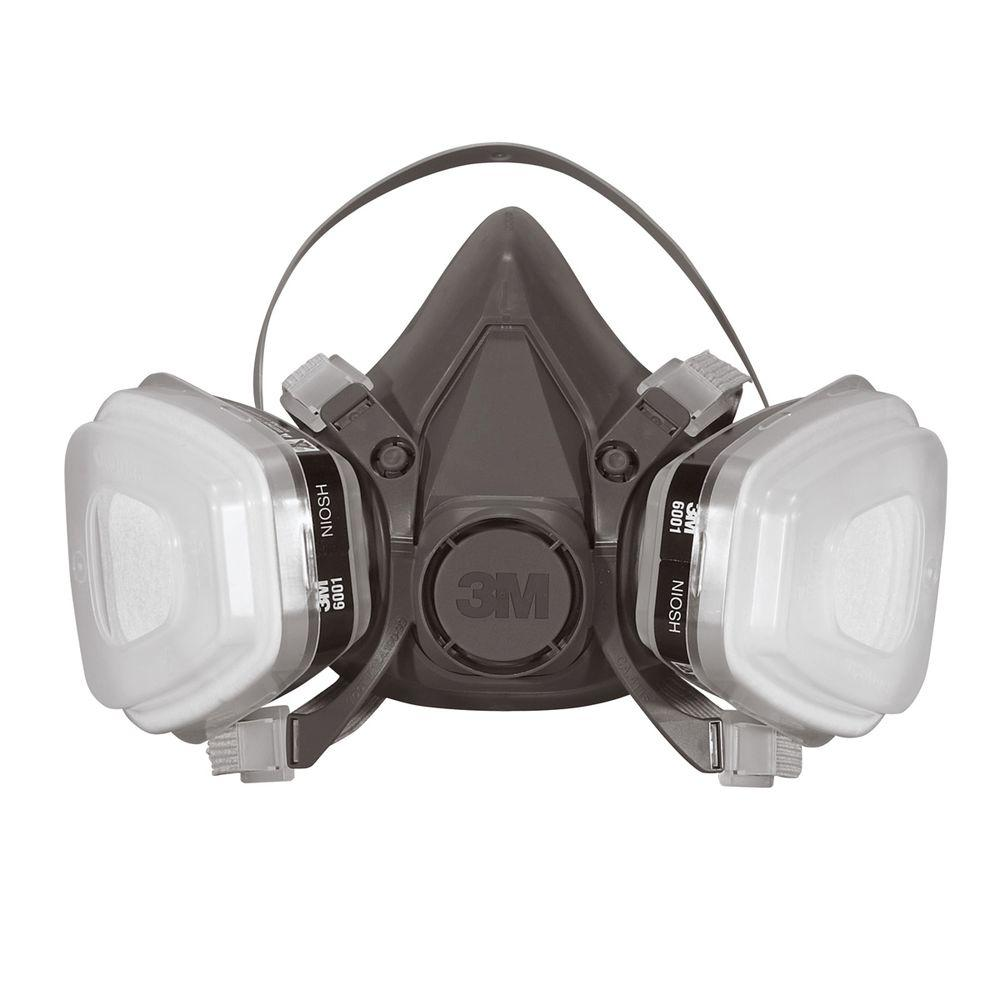3M Large Paint Project Respirator Mask (Case of 4)