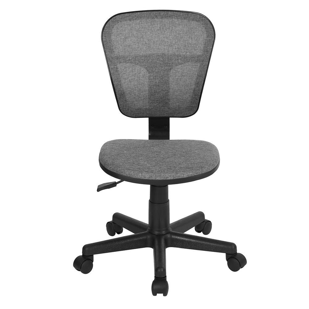 Flying Grey Fabric Task Chair