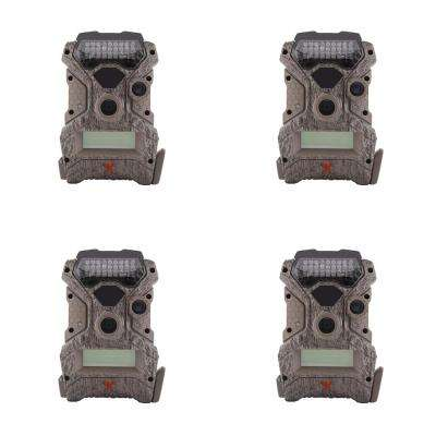 Wildgame Innovations Mirage No Glow 18 MP Hunting Trail Game Camera (4-Pack)