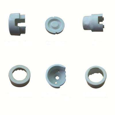 White Round Line Mounting Hardware (10-Pack)