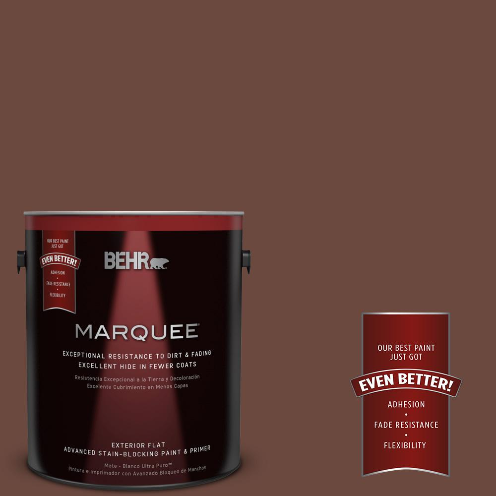 BEHR MARQUEE 1-gal. #S-G-750 Chocolate Sprinkle Flat Exterior Paint