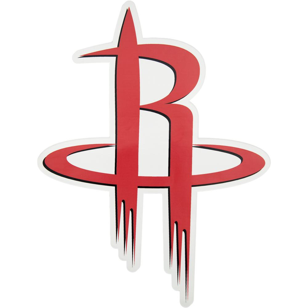 Applied Icon Nba Houston Rockets Outdoor Logo Graphic