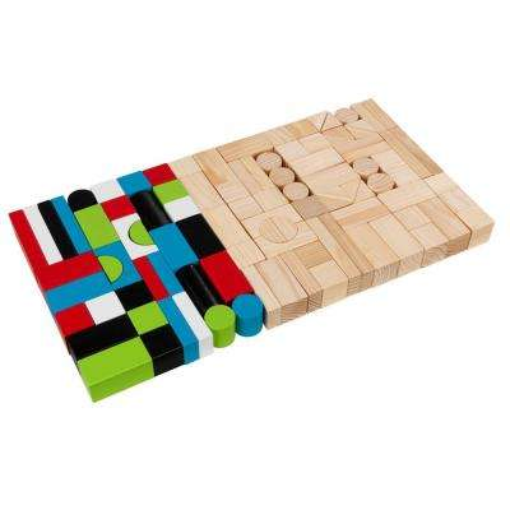 Wooden Block Playset