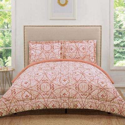 shipping twin coral comforter sets katelyn xl mizone set free