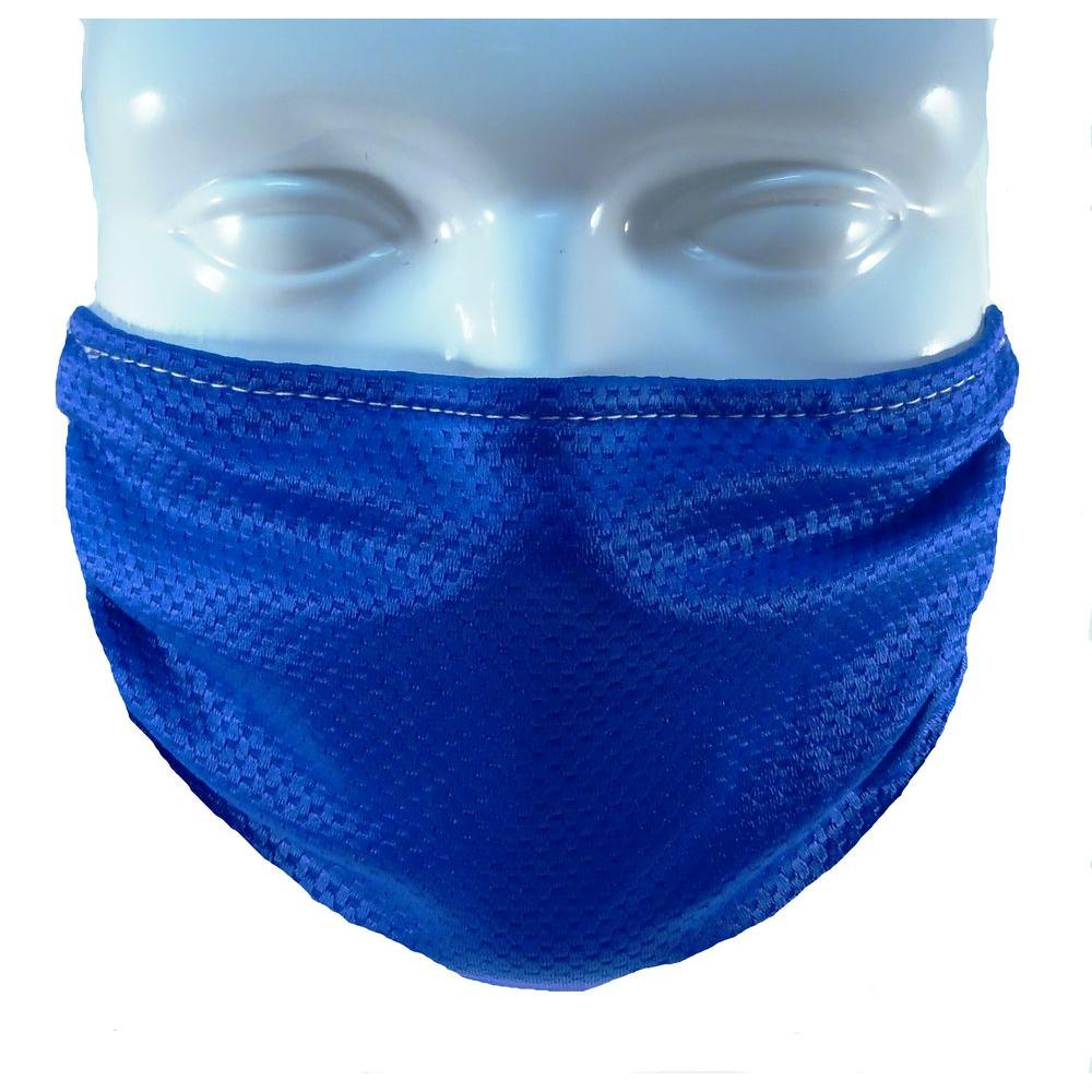 BREATHE HEALTHY Multipurpose Washable/Reusable Dust, Pollen and Germ Mask - Blue Breathe Healthy masks offer respiratory protection that is comfortable, effective for everyday use, and reusable. They are a sustainable and ecological alternative to disposable masks. Additionally, they have a permanent antimicrobial treatment masks that kills germs on contact, is environmentally safe, and is still effective after 100 washings. These masks are designed to be a better alternative to uncomfortable disposable paper masks. Used for Sanding, Drywall, Woodworking, Lawn care, etc. Color: Blue.