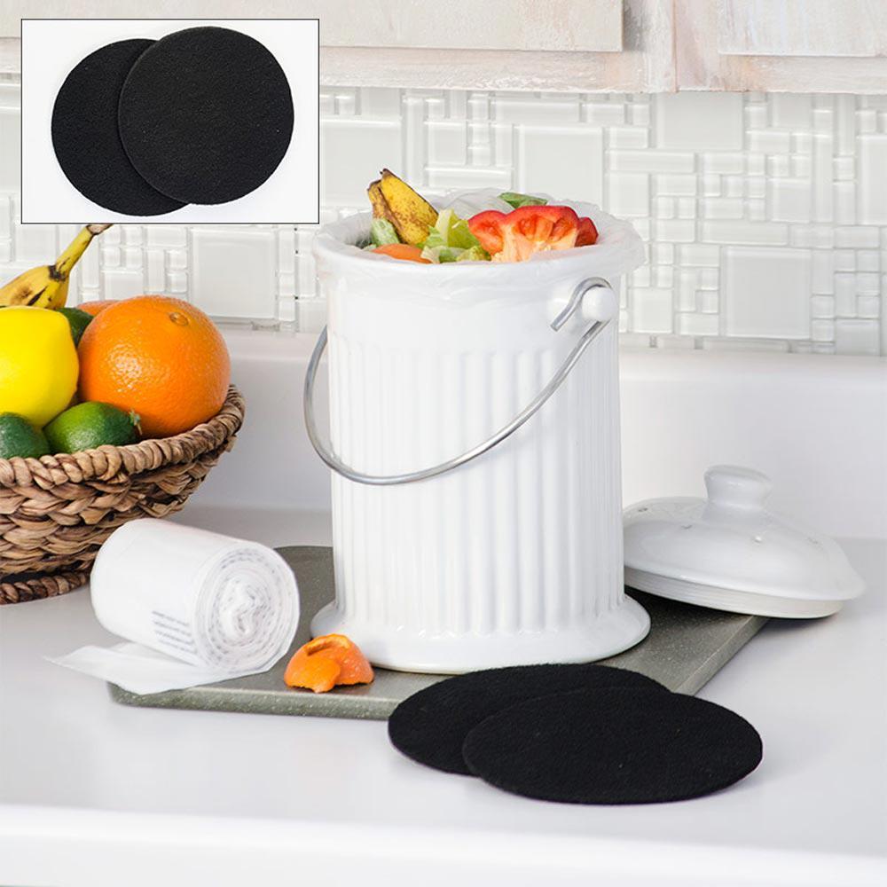Counter Top Ceramic Compost Crock Kit