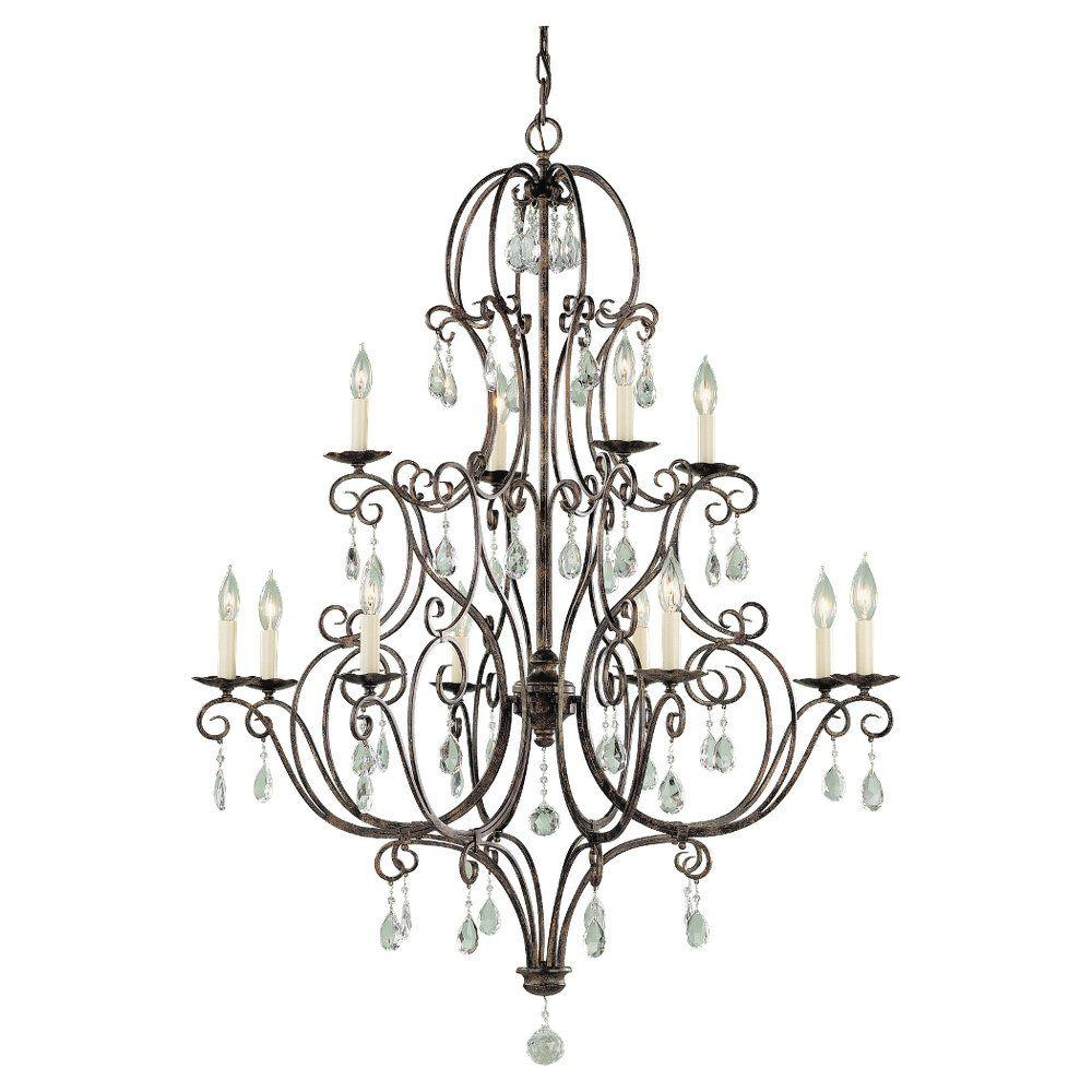 Feiss chateau 12 light mocha bronze multi tier chandelier f19388 feiss chateau 12 light mocha bronze multi tier chandelier aloadofball Gallery
