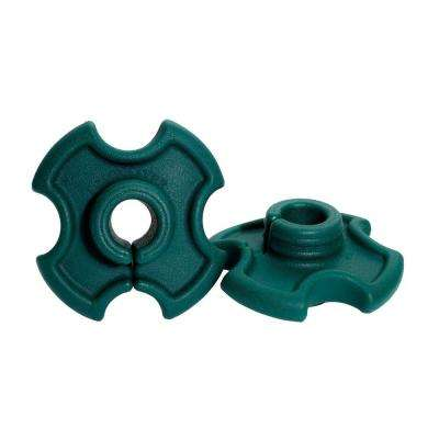 Green Shaft Dampener Vibration Killer for Weed Trimmers and Brush Cutters (2-Pack)