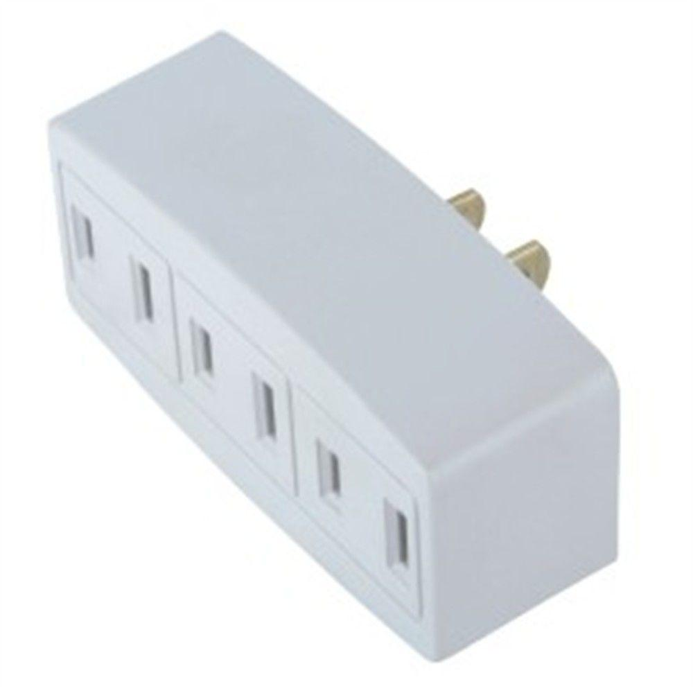 Commercial Electric 15 Amp Polarized Outlet AC Adapter-LA-2A - The ...